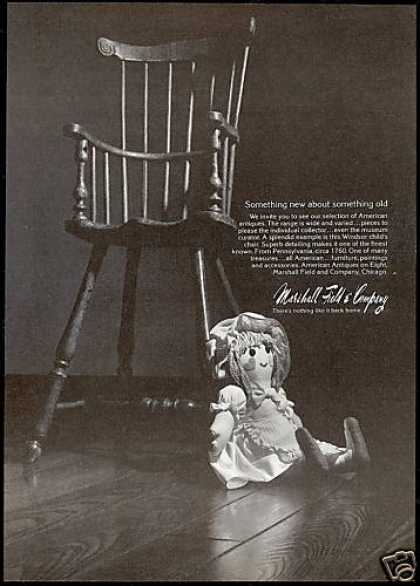Windsor Child's Chair Photo Marshall Field & Co (1976)