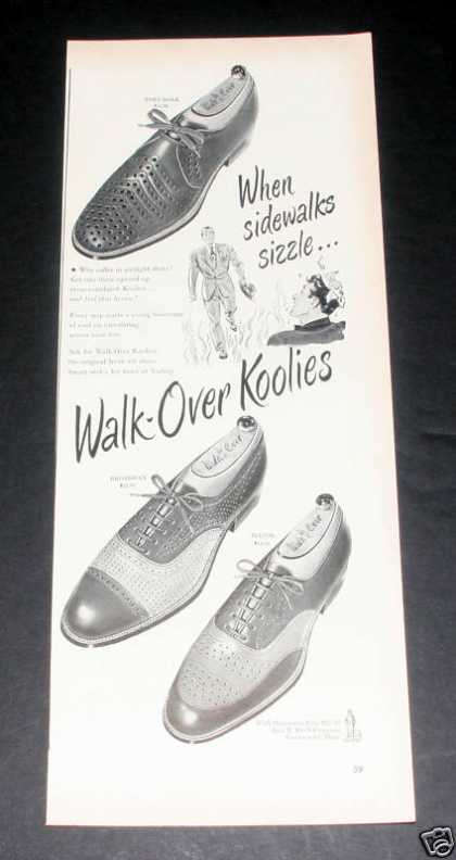 Walk-over Koolies, Mens Shoes, Exc (1949)
