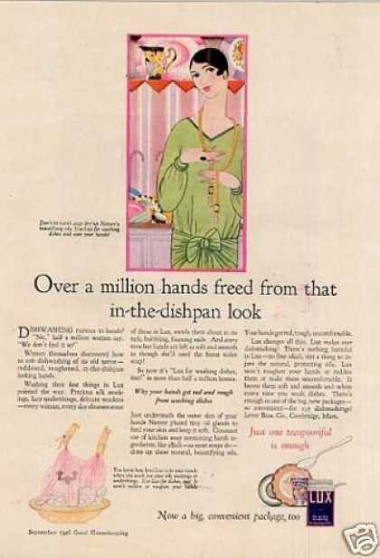 Lux Soap Detergent Color (1926)