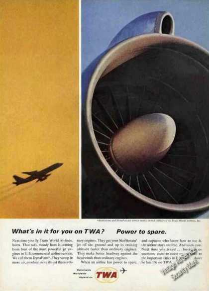 Twa Dynafan Engine Photos Promo (1964)