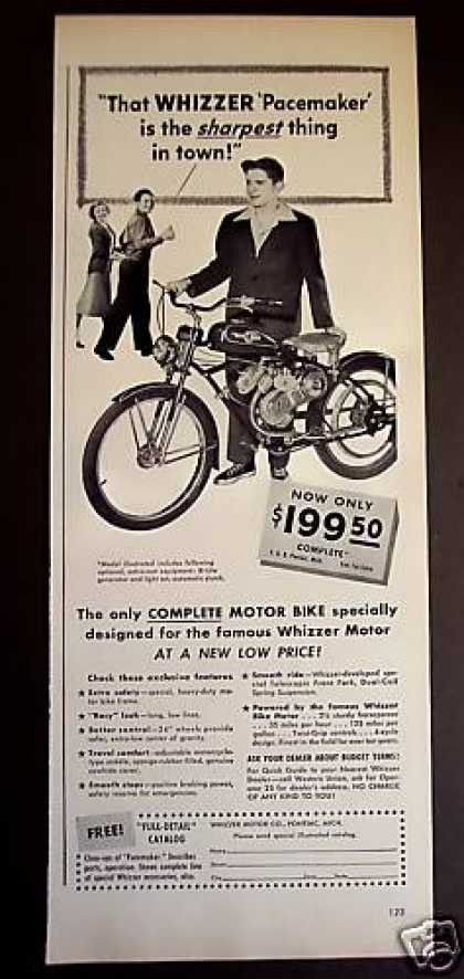 Whizzer Pacemaker Motor Bike (1949)