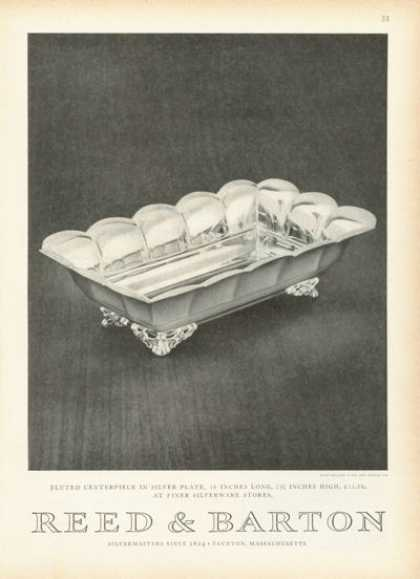 Reed &amp; Barton Silver Plate Centerpiece (1955)