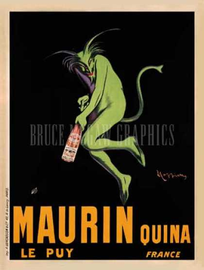 Maurin Quina by Leonetto Cappiello (1920)