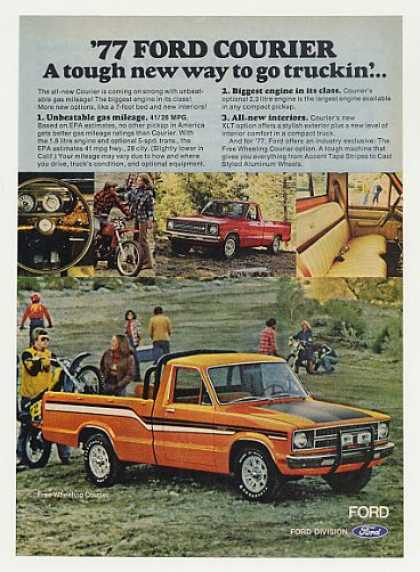 Ford Free Wheeling Courier Pickup Truck (1977)