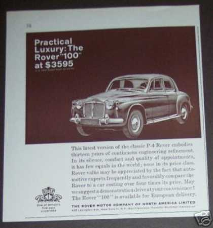 Rover 100 P-4 British Car (1961)