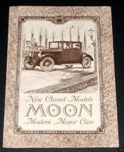 Closed Model Moon Motor Cars (1919)