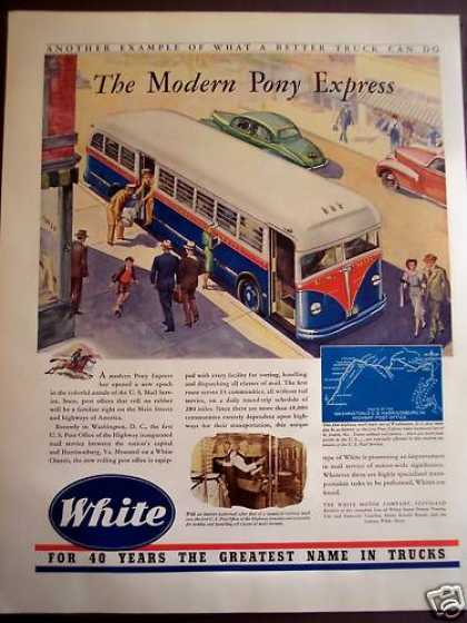 White Motor Co U.s. Post Office Mail Delivery (1941)