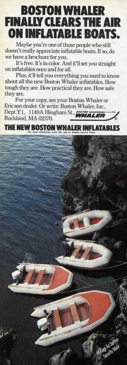 Boston Whaler Inflatables Boat (1980)