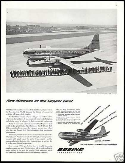 Boeing Stratocruiser Pan American World Airways (1948)