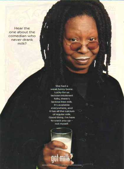 Whoopi Goldberg – Got Milk? (1999)