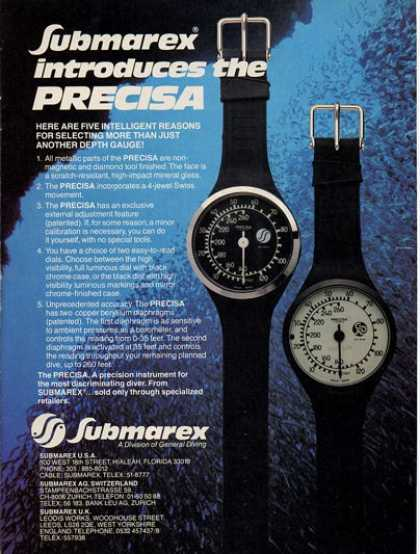 Submarex Intro Precisa (1979)