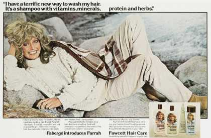 Faberge Farrah Fawcett Hair Care