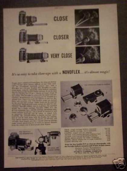 Novoflex Bellows System for Exakta Camera (1952)