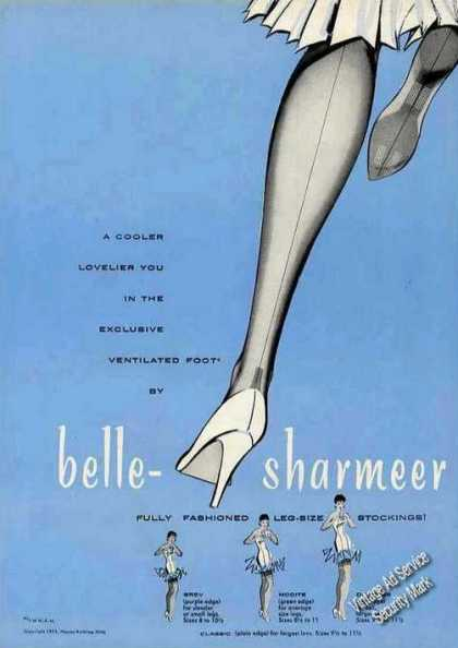 Belle-sharmer Stockings Art Fashion (1955)