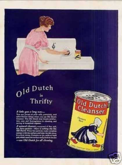 Old Dutch Cleanser Color (1923)