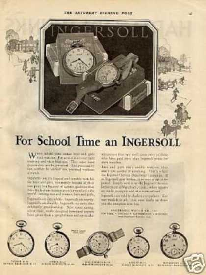 Ingersoll Pocket Watches (1927)