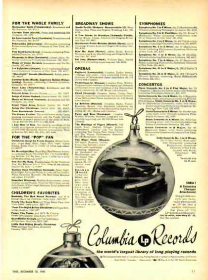Columbia Records Christmas (1951)