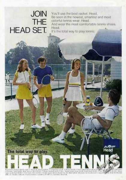 Head Tennis the Total Way To Play (1972)