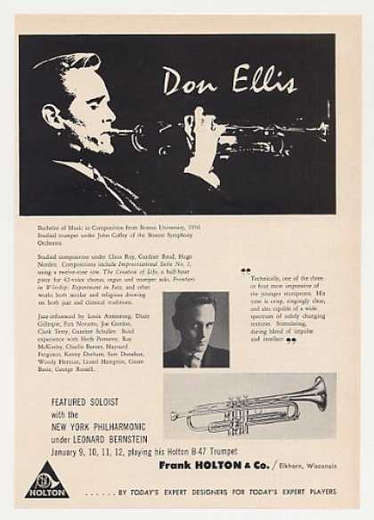 Don Ellis Holton Trumpet (1964)