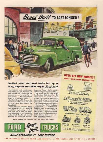 Ford Bonus Built Truck (1948)