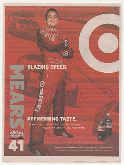 NASCAR Casey Mears #41 Target Coca-Cola (2004)