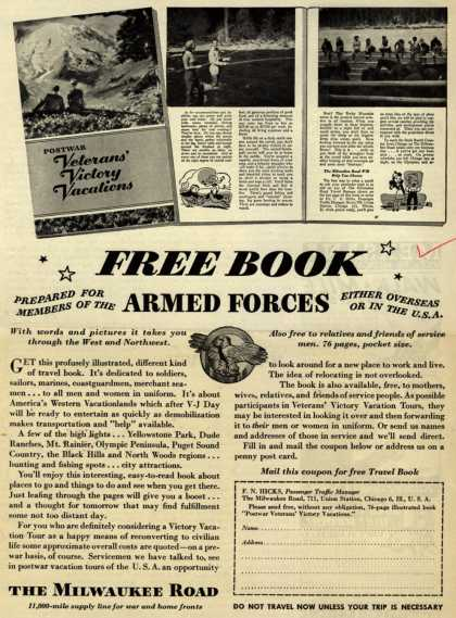 Milwaukee Road's Free Book – Free Book (1945)