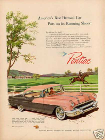 "Pontiac Car Ad ""America's Best Dressed... (1956)"