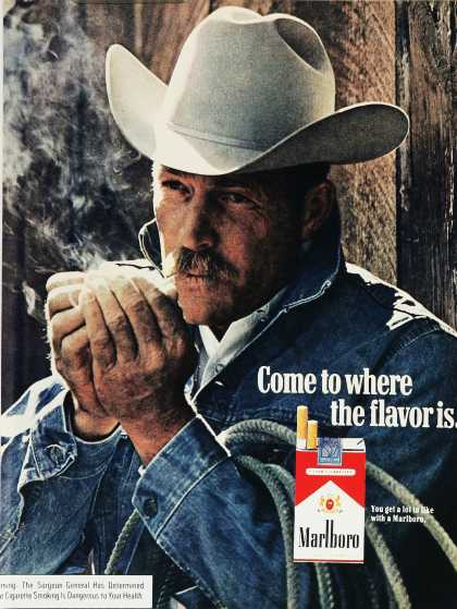 Marlboro – Come to where the flavor is