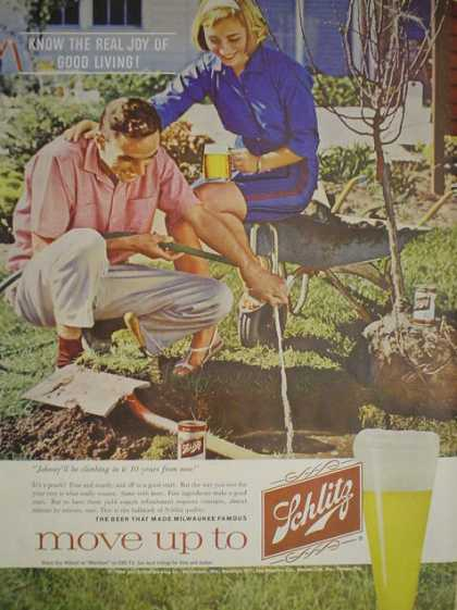 Schlitz Beer Home Tree Planting Theme (1960)