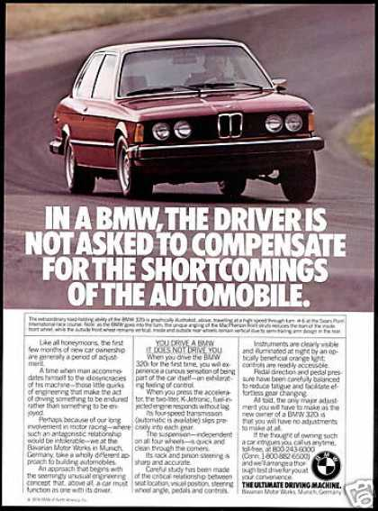 BMW 320i 320 i Car You Drive Photo (1974)