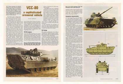 OTO Melara VCC-80 Armoured Vehicle Photo Article (1990)