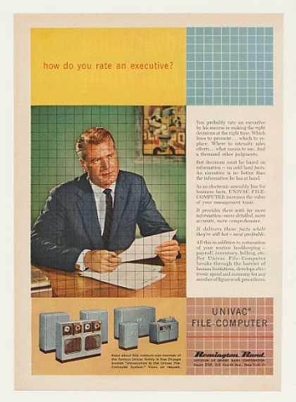 Remington Rand Univac File Computer System (1955)
