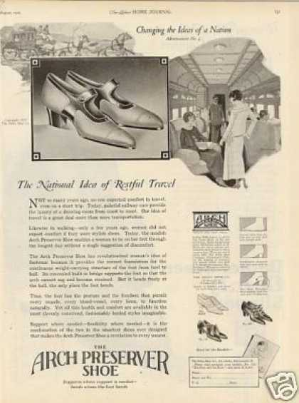 Arch Preserver Ladies Shoes (1923)