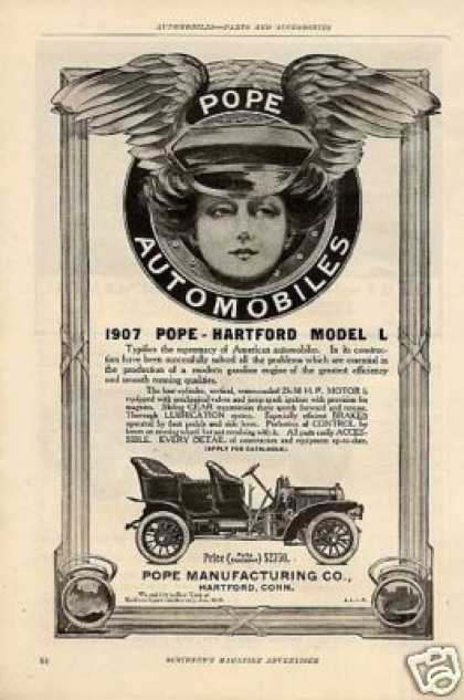 Pope Hartford Model L Car (1907)