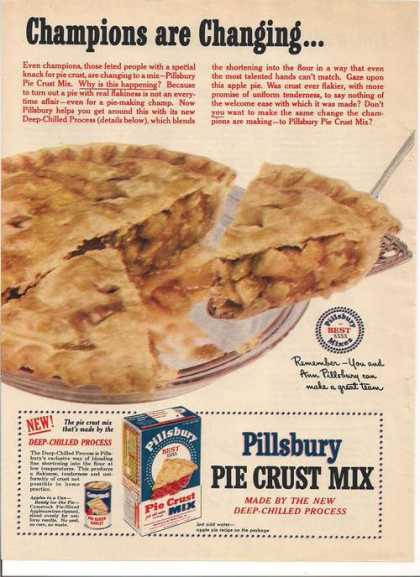 Pillsbury Pie Crust Mix (1951)
