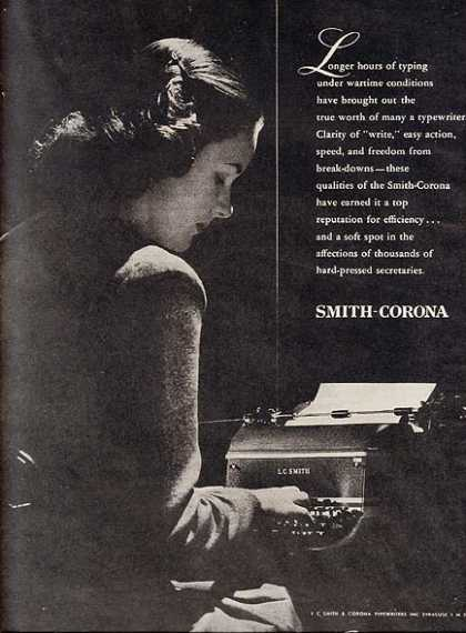 Smith-Corona (Smith-Corona Typewriter) (1945)