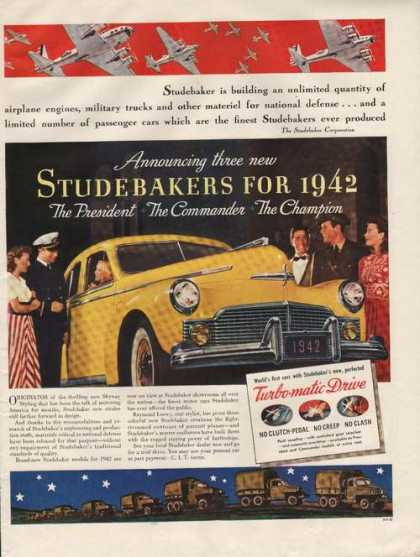Studebaker for 1942 Turbo Matic Drive Car (1941)