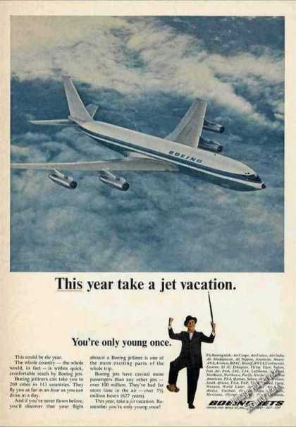 "Boeing Jets ""This Year Take a Jet Vacation"" (1966)"