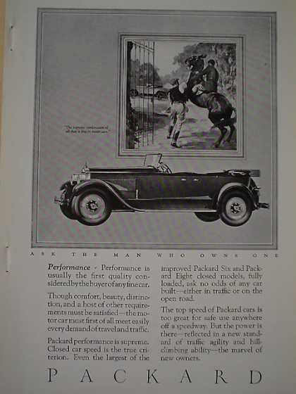 Packard Auto Horse theme AND Boyce Moto Meter Heat (1926)