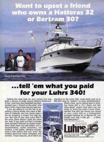 "Luhrs 340 Photo ""Tell 'em What You Paid"" Boat (1985)"