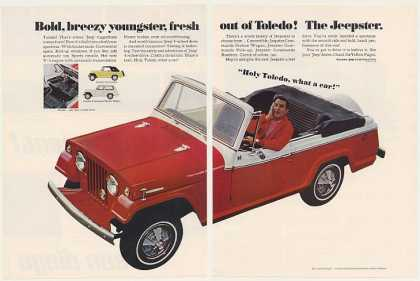 Danny Thomas Jeep Jeepster Convertible (1967)