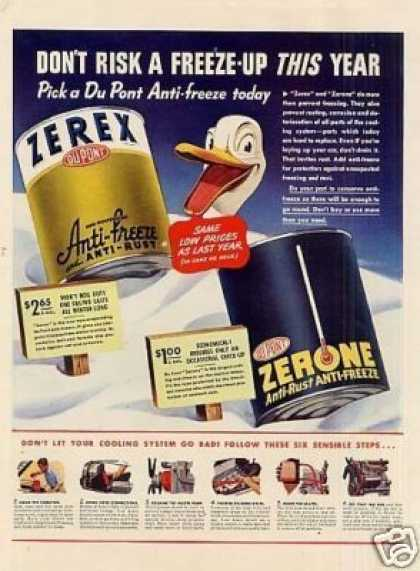 Dupont Anti-freeze (1942)
