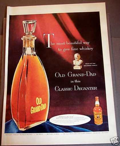 Old Grand-dad Fine Whisky (1954)