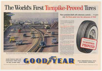 Bay Shore Freeway San Francisco Goodyear Tires (1960)