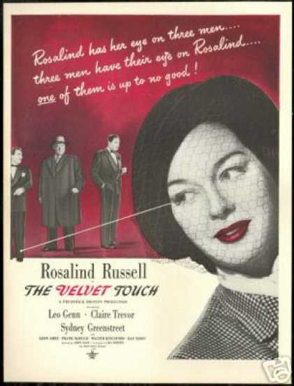 Rosalind Russell Photo Vintage Movie (1948)