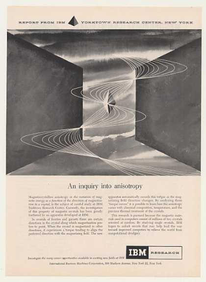 IBM Research Anisotropy Magnetic Crystal (1958)
