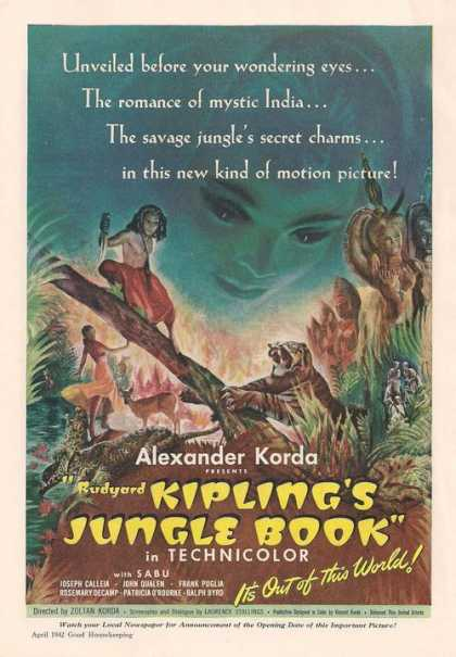 Jungle Book In Technicolo (1942)