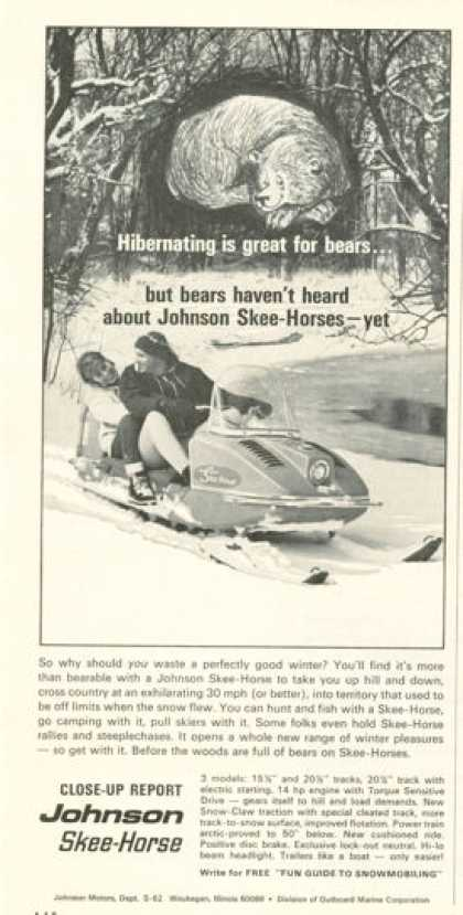 Johnson Skee Horse Snowmobile (1965)