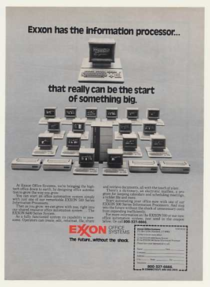 Exxon Office Systems 500 8400 Series Computers (1983)