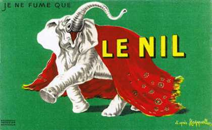 Le Nil &#8211; Leonetto Cappiello &#8211; Francia (1935)